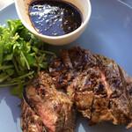 健康レストラン かろり500 - ランプ肉のグリル