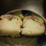 しんべ - 鯖と鯵の棒寿司