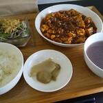 125040453 - 麻婆豆腐ランチ