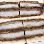 肉の万世 ステーキハウス - 弐万カツサンド