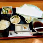 天銀 - 天ぷら定食