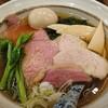 Chuukasobakinari - 料理写真:味玉肉増し山椒白醤油そば¥1,100