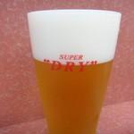 ル・鰻 - 生ビール