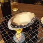 与六ぢゃ - あわび踊り焼き990円