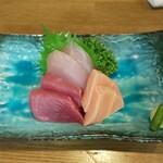 125050956 - 地魚刺身盛合せ(3種)