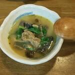 八丈島郷土料理 梁山泊 - 青海亀の煮込み