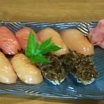 八丈島郷土料理 梁山泊 - 島寿司1人前(要予約)