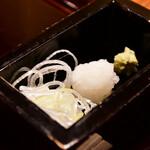 沙伽羅 - 【上天丼膳@1,890円】薬味