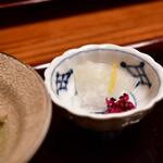 沙伽羅 - 【上天丼膳@1,890円】お新香
