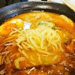 麺処 松。 - 麺はこんな感じ。