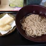四谷 政吉 - たけのこ天そば(ぶっかけ) 450円