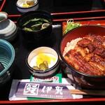 鰻伊賀  - 料理写真:おひつまぶし