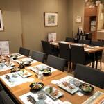 すし仙 - ご宴会もOK!テーブル席は16人迄です。