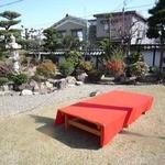 比叡・三九良 - 先代が丹精込めたお庭