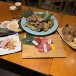 博多海鮮処 しらすくじら 明神丸 - 焼き牡蠣バリューセット