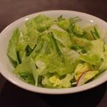 紅花別館 - サラダ
