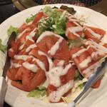 焼肉処 くらちゃん - トマトのサラダ