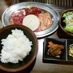 12507190 - さんきゅう定食600円