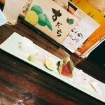 徳島魚一番 新 - お造りの5種盛り