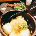 徳島魚一番 新 - 揚げ出し豆腐