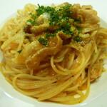 イノルトレ - 豚バラしめじのトマトソーススパゲティーニ