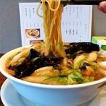 中華 のんち - 中華のんち@茅ヶ崎 肉そば 麺リフト