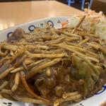 125077440 - 大皿カレー(肉野菜炒め入り)890円