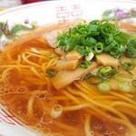 中華そば 駒 - このスープ、絶品です( *´°`)