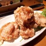 鶏焼肉のんき - 塩鳥から揚げ✨✨2度揚げで外カリ、中ジューシー