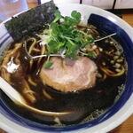 鶏口 - 料理写真:黒煮干しそば
