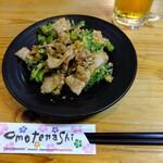 神鷹 - 料理写真:ゴーヤ豚味噌