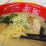 らーめん赤坂屋 - 2012.04.15 ラーメン(650円)