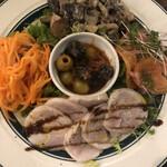 ネオビストロ MURA -ハンドメイドキッチン- 中野店 - 前菜5種、上から。