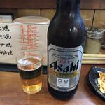 タコたこ - 大瓶ビール530円