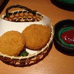 博多 もつ鍋 かみ坂 - カニクリームコロッケ