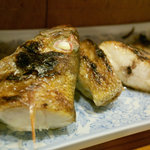つり舟割烹 三河屋 - 赤むつの焼き魚