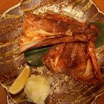 寿司 うまいもの処 伊勢家 - まぐろのカマ焼き