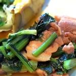 タベルナ カディス - ポークと小松菜のソテー