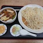 しみずや - こむぎ日和三笑鳥汁(900円)