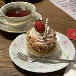 125103032 - 『いちごクリームのカスタードパイ』 500円