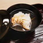 片折 - 鮟鱇と大根のお椀
