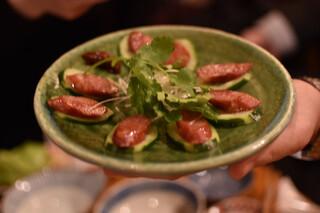 餃子坊 豚八戒 - 腸詰ソーセージ