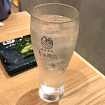 本田商店 - ・麦焼酎ソーダ割り