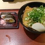 麺家大阪みどう - 巻き寿司定食(そばにて)