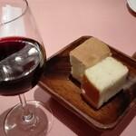 125109307 - ワインとフォカッチャ