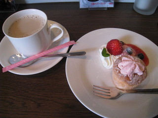 dining bar TK2 - デザート&カフェオレ(パスタランチ)