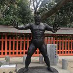 125112187 - 住吉神社の力士像