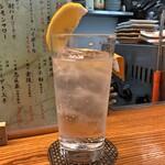 立ち呑み処 おか田 - レモンサワー