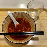 辣上帝 - 麺は完食しましたがスープが飲めません( ¯ ¨̯ ¯̥̥ )