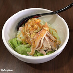 翠陽 - ミニ棒々鶏丼